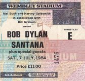 Bob Dylan Santana Sat 7 july 1984 Wembley Stadium 2cd + dvd set. NEW!