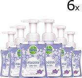 Dettol Handzeep Zachte Mousse - Antibacterieel - Orchidee & Vanille - 250ml x6