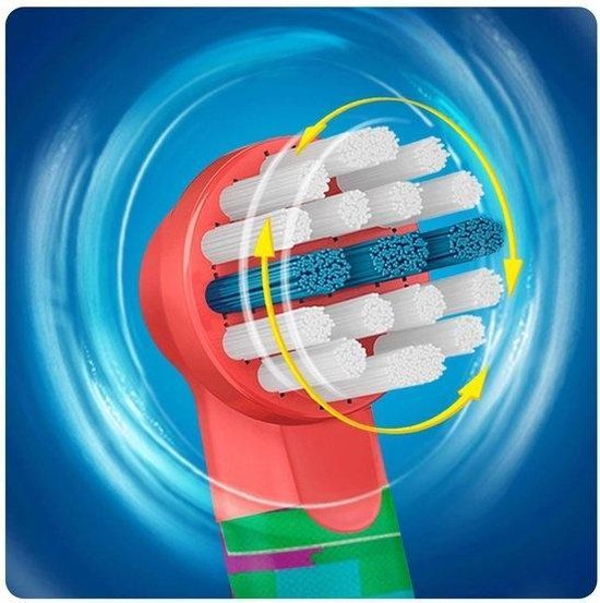 Oral-B Stages Power Kids Opzetborstels Cars - 4 stuks