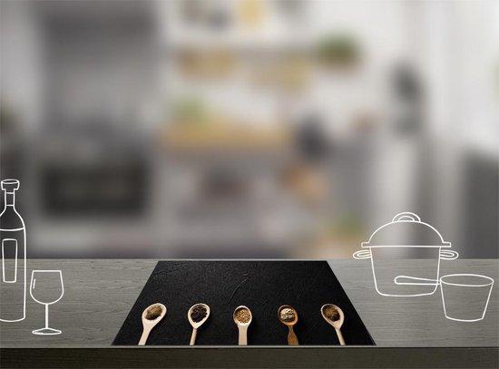 Inductie Beschermer Lepels (90x52cm) - Dé originele Inductie Beschermer van Dietrix® - Bescherm & Style je kookplaat