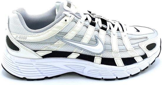 Nike P-6000 - Sail/White/Wolf Grey - Maat 46