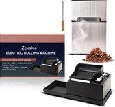 Zexskie®Elektrische sigarettenmaker|Inclusief sigarettendoosje|Machine|Vuller|Hulzen|Stopper|Roller|Schieter