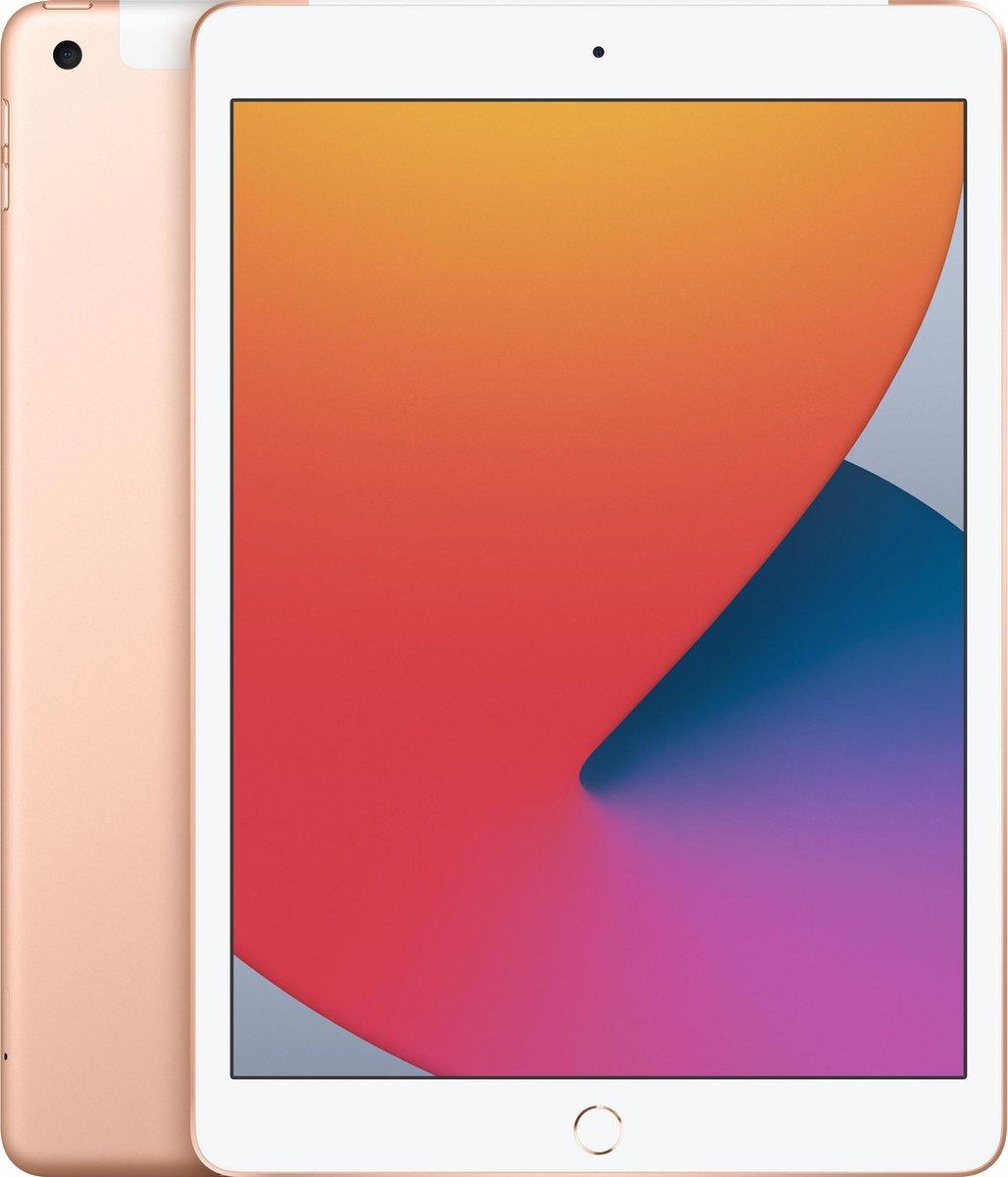 Apple iPad (2020) – 10.2 inch – WiFi + 4G – 32GB – Goud