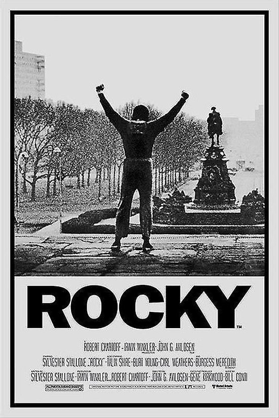 originele filmposter Rocky Sylvester Stallone 91,5 x 61 cm poster