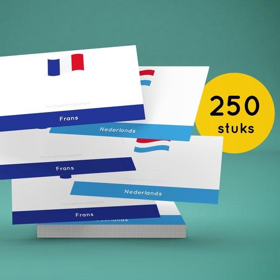 Afbeelding van het spel Flashcards - Frans Nederlands (250)