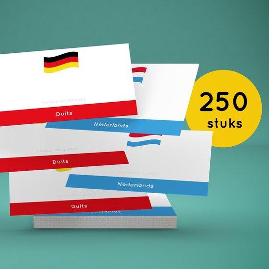 Afbeelding van het spel Flashcards Duits-Nederlands (250)