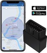 Auto GPS Tracker OBD2 / OBD Diagnostisch Hulpmiddel 2 in 1, real-time monitoring voertuig, kilometerstand, overspeed alarm, sos alarm, gratis app