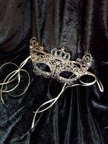 Koninginnen Kroon Masker - Queen's Crown Lace Mask