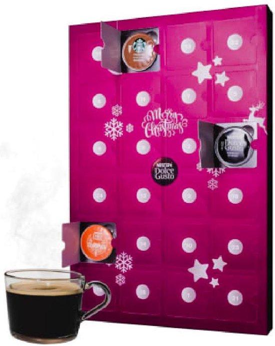 Dolce Gusto Capsule Adventskalender - 24 capsules koffie - kerst cadeau