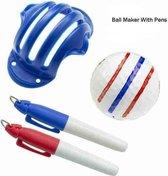 GOLFING8 Triple-Line Golf Bal Stencil