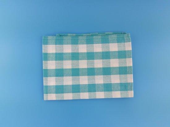 Theedoek -Theedoeken - 50x70 cm - Keukendoek - keukendoeken - Blauw -100% katoen