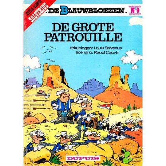 Cover van het boek 'Blauwbloezen / 09 De grote patrouille' van  Onbekend