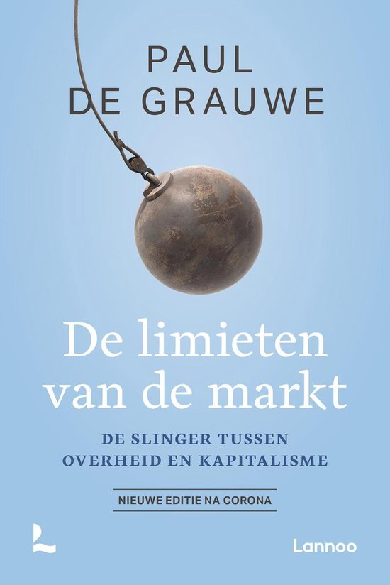 Boek cover De limieten van de markt van Paul De Grauwe (Paperback)