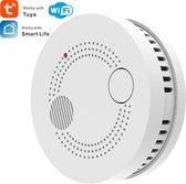 Wifi rookmelder -  Détecteur de fumé - montage magneet - rookmelder - Brandmelder - Smart rookmelder - 3 years battery - 85DB - notificatie functie - Koppelbaar  met google home