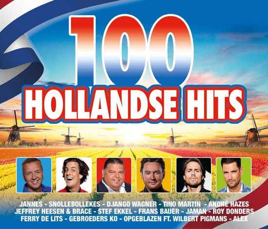 CD cover van 100 Hollandse Hits - 2020 van Various