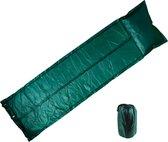 Zelfopblazende Slaapmat - Slaapmat voor 1 Persoon - Slaapmat 175x60 - Groen