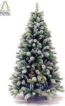 Kunstkerstboom 180 cm met sneeuw   model Clinton