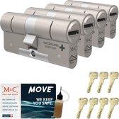 Cilinderslot M&C Move (4 stuks)