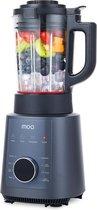 MOA PB912 Power Blender 1200 Watt - Soepmaker - Blender & Soupmaker in 1 - Blenden & Verwarmen - Zwart