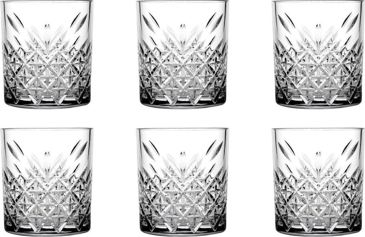 Pasabahce Tumbler Timeless Tumberglazen - 355 ml - Transparant - 6 stuks