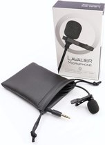 LM&C LAVALIER MICROFOON voor iPad, iPhone en Android smartphones - 3.5mm Aansluiting Lavalier Lapel clip mic recording, 145cm kabel lengte