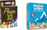 Spellenbundel - Kaartspel - 2 stuks - Phase 10 & Machi Koro Basisspel