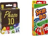 Spellenbundel - Kaartspel - 2 delig - Phase 10 & Skip-Bo