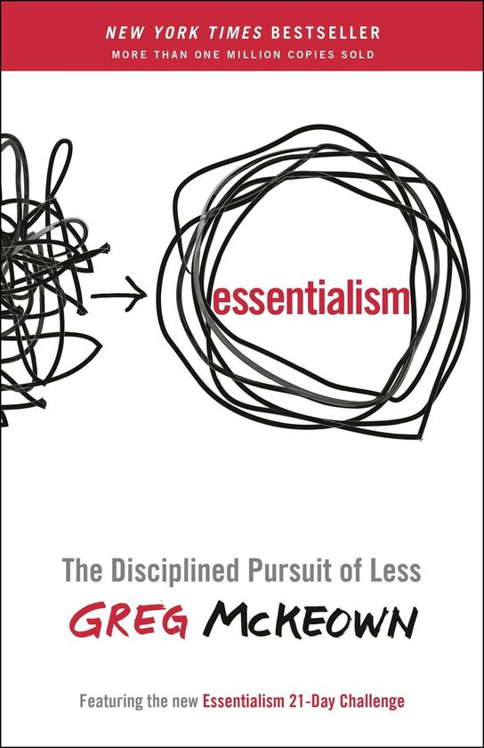 Boek cover Essentialism van Greg McKeown (Paperback)