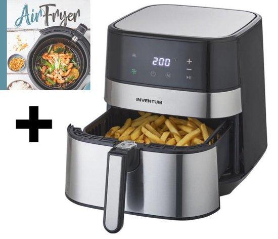 Inventum GF500HLD - Hetelucht friteuse + Gratis het kookboek: Airfryer