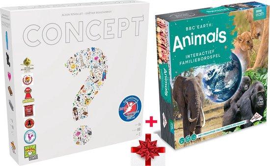 Afbeelding van het spel 1X Identity Games BBC Earth Animals Bordspel + 1X Repos Production Concept Kids Dieren: Perfect aanvullende set - Sinterklaas - Kerst - Verjaardagen etc. Uniek! + 2 ebooks