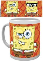 Merchandising SPONGEBOB - Mug - 300 ml - Faces