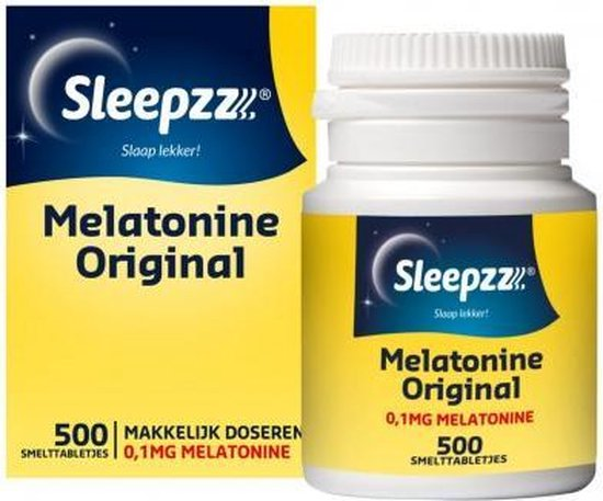 Melatonine Original 0,1 mg - 500 tabeletten