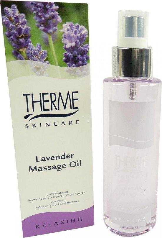 Therme Lavendel - 125 ml - Massageolie