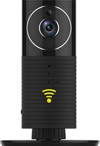 CleverDog WiFi camera - Panorama - Night vision  - Zwart