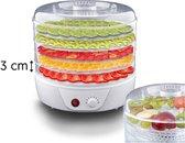 LAMEX LXSR001 Voedsel droger voor de fruit-, champignon- en groenten - 250Watt - 5 lagen