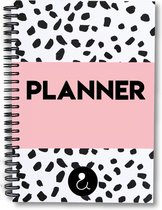 Weekplanner - weekplanner roze - weekplanner 2020/2021 - Studio Ins & Outs