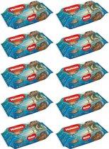 Huggies Disney Mowana Babydoekjes 56 Stuks - 10 Pack