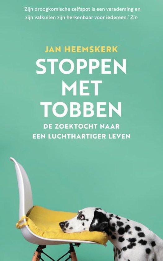 Boek cover Stoppen met tobben van Jan Heemskerk (Paperback)