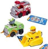 Afbeelding van PAW Patrol Reddings Voertuigen Marshall, Rubble en Rocky speelgoed