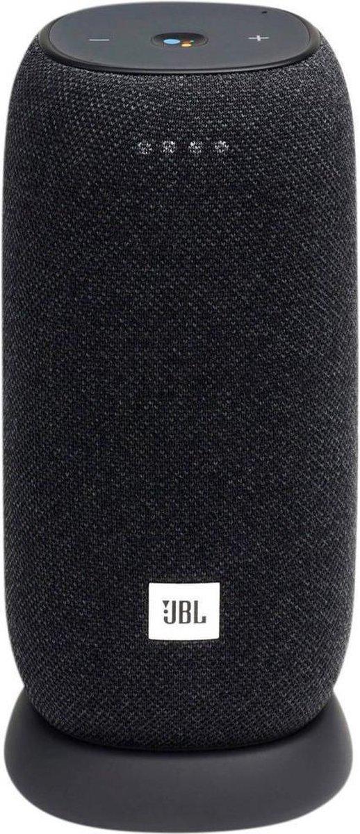 JBL Link Portable - Draadloze Smart Speaker met Google Assistant - Zwart