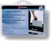 Rexel Olievellen Voor Papierversnipperaar - 12 Stuks