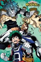 My Hero Academia poster manga Japans anime Izuku collage formaat 61 x 91.5 cm