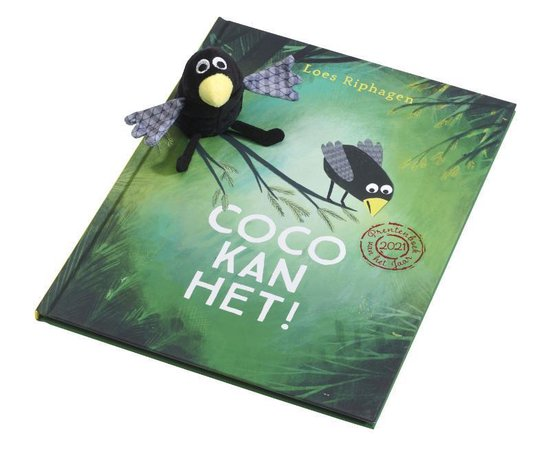Boek cover Coco kan het! (met vingerpop) van Loes Riphagen (Hardcover)