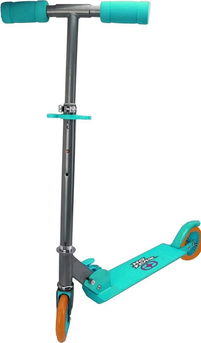 No Fear Scooter Stuntstep - Step - Jongens en meisjes - Turquoise