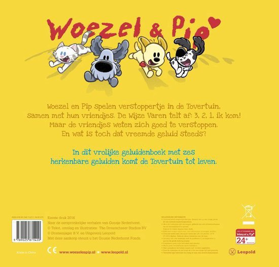 Woezel & Pip  -   Verstoppertje