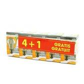 PROLIGHT halogeen classic bulb - 5 stuks - E27 - 230V - 42W - dimbaar