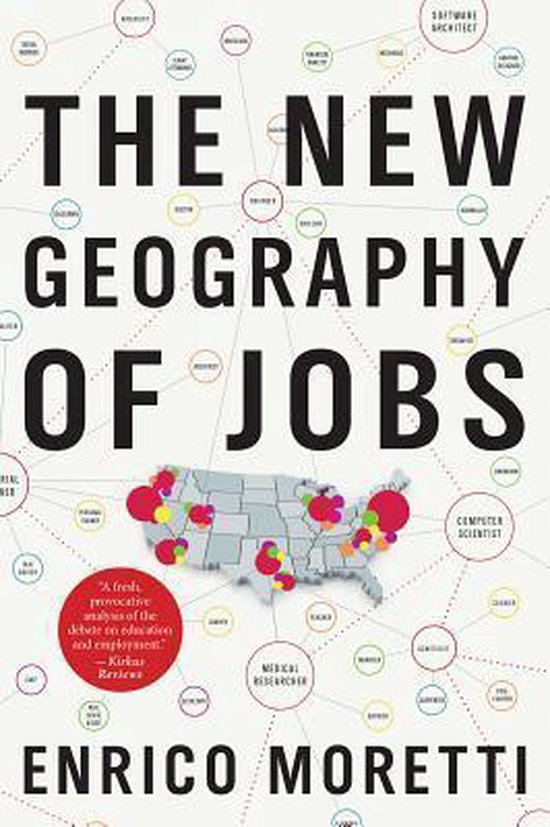 Boek cover The New Geography of Jobs van Enrico Moretti (Paperback)
