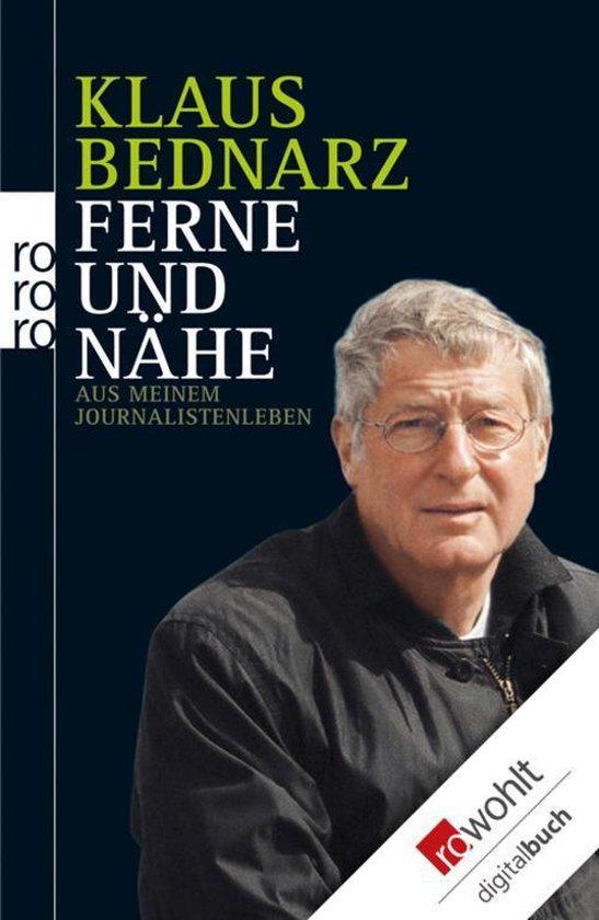 Boek cover Ferne und Nähe van Klaus Bednarz (Onbekend)