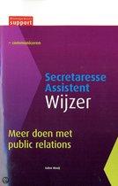 Secretaresse Assistent Wijzer  -   Meer doen met public relations