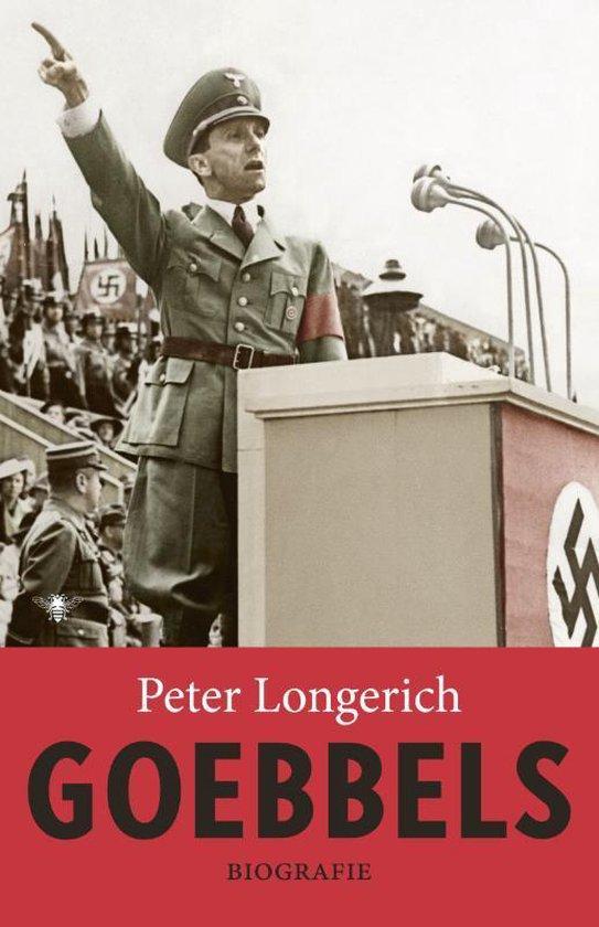 Boek cover Goebbels van Peter Longerich (Hardcover)